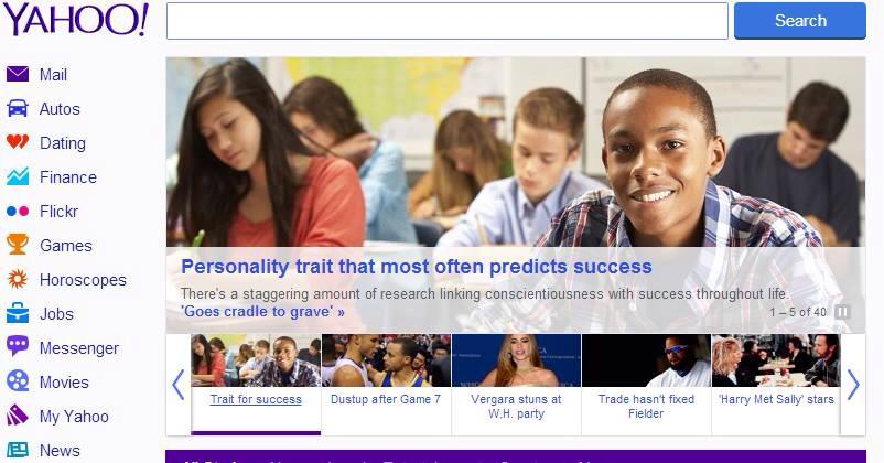 Yahoo Print Ad