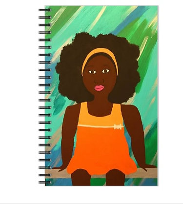 Little Girl Notebook