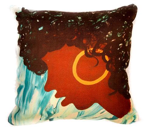 Afro Sheen Pillow