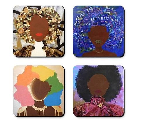 Fabulous Four Coaster Set