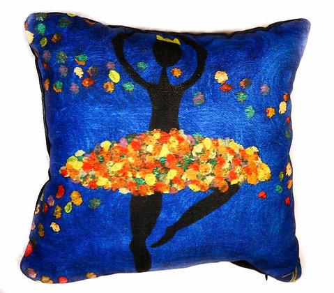 Dancer Pillow