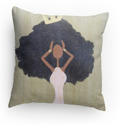 Crowned Pillow