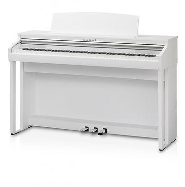Kawai CA48 digitale piano Satin white