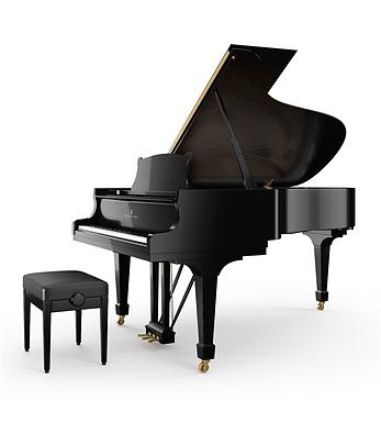 Steinway & Sons B vleugelpiano hoogglans zwart
