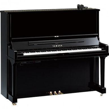Yamaha SU7 SH2 Silent PE  piano zwart hoogglans