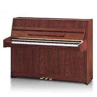Kawai K15 piano Mahonie