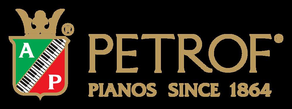 Logo petrof piano's