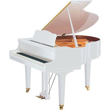 Yamaha GB1 vleugelpiano hoogglans wit