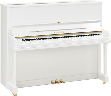Yamaha YUS1 piano hoogglans wit