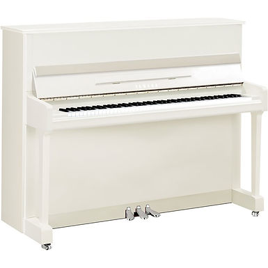 Yamaha P116 PE  piano Wit hoogglans 'Silver edition'