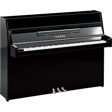 Yamaha B1 PE piano Zwart hoogglans'Silver edition'