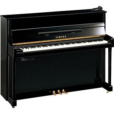 Yamaha B3 SC2 Silent piano PE Zwart hoogglans