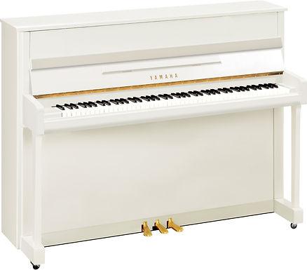 Yamaha B2 piano white polished