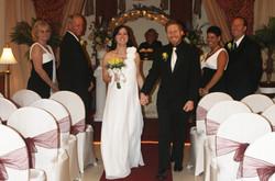 wedding walk down the aisle