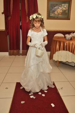 chapel flower girl