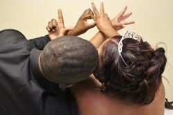 Love bride groom chapel