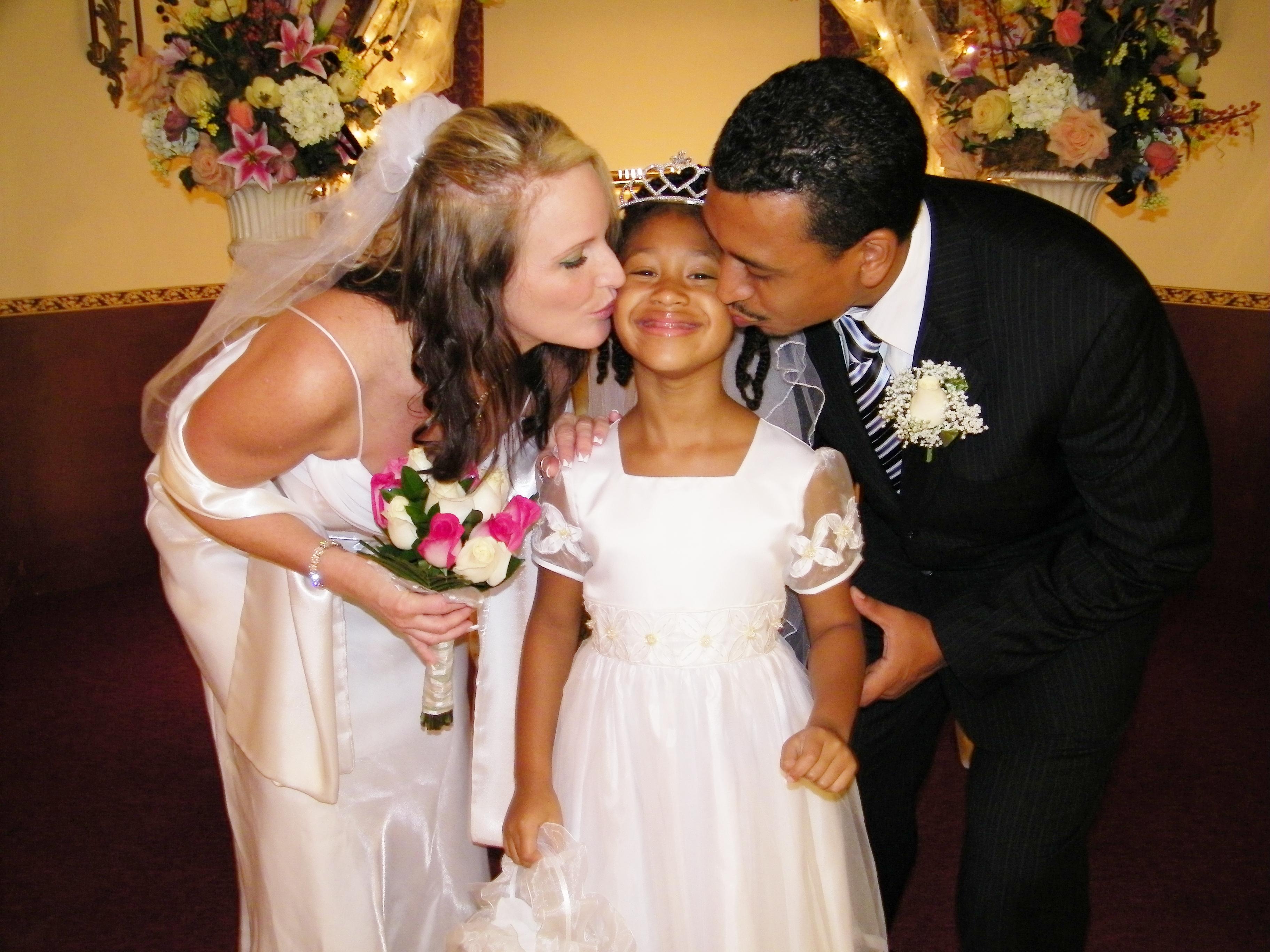 bride groom family wedding