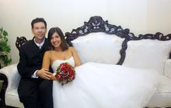Florida wedding chapel couple