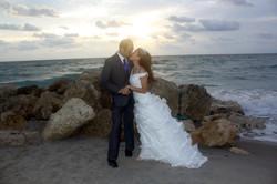 Beach wedding deerfield broward