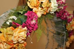 wedding arch decor flowers