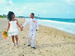Pompano Beach wedding bride groom