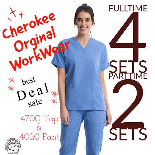 PRE-ORDER Woman's WW Original Scrub Set 4700 Top & 4020 Pant
