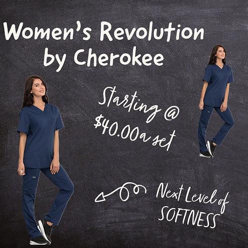 Woman's Revolution Scrub Set WW620 Top & WW120 Pant
