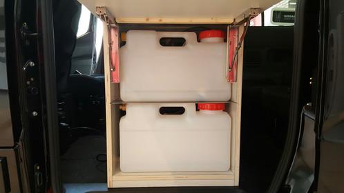 Mueble cocina extraible para nv200 evalia sin nevera - Mueble para nevera ...