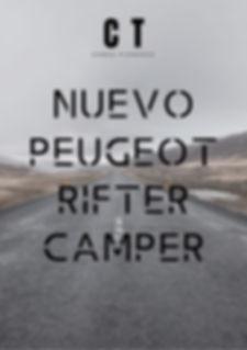 Peugeot Rifter Camper