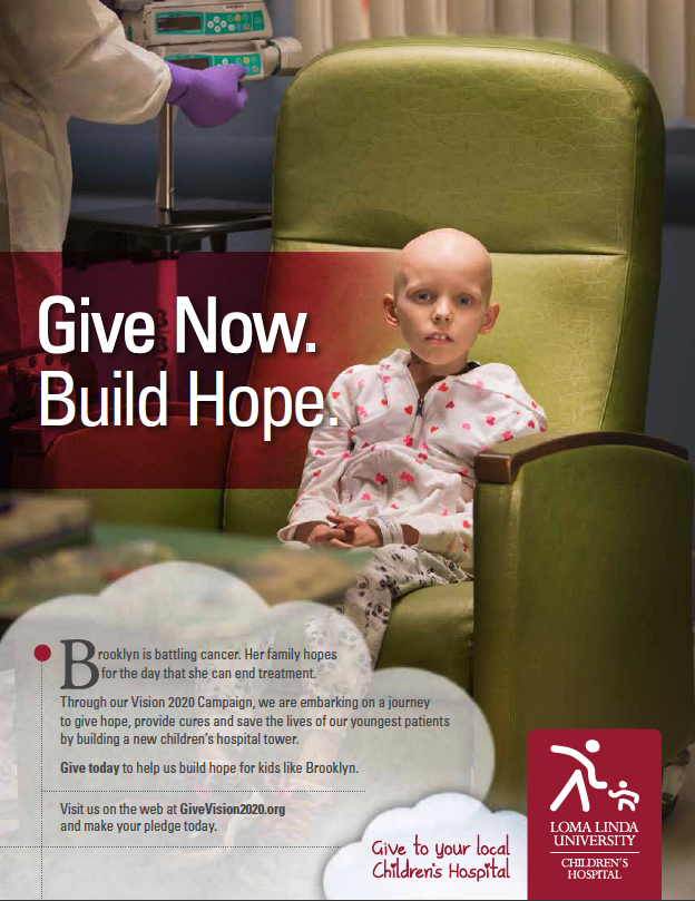 Loma Linda University Children's Hospital Print Ad - Giving Campaign