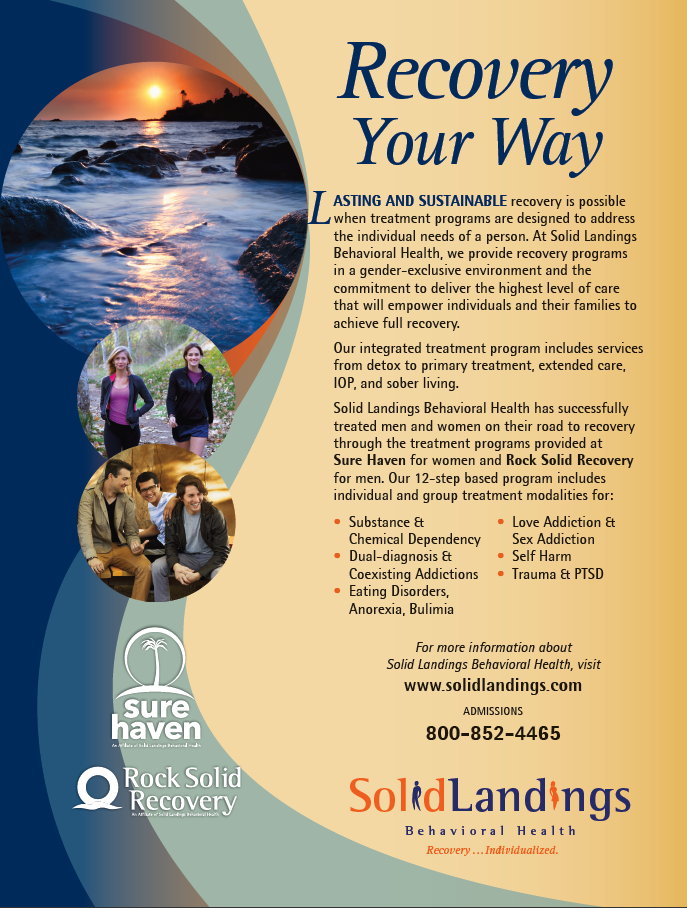 Solid Landings Full Page Print Ad