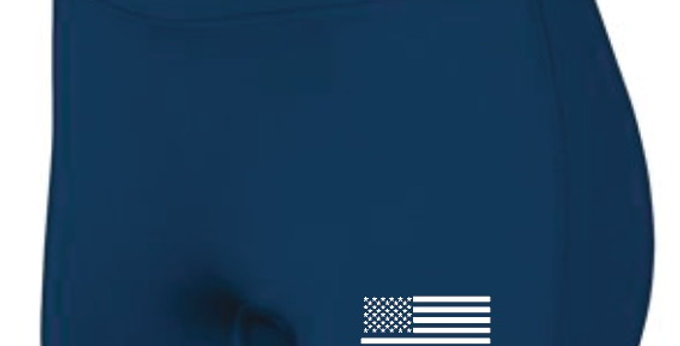 Navy Adidas Spandex