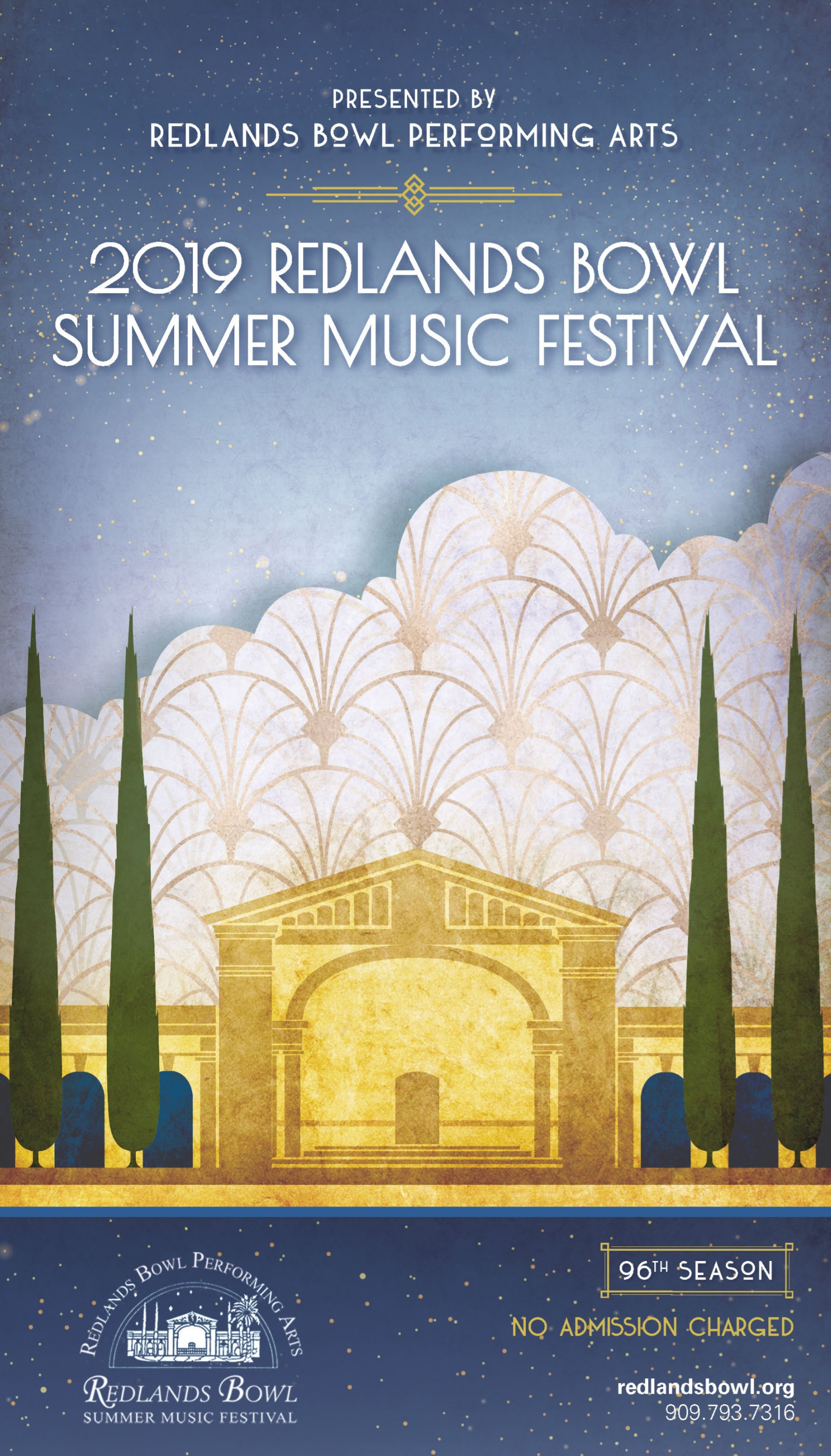 Redlands Bowl Summer 2019 32 pg Brochure