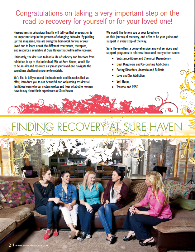 Sure Haven Women's Magazine