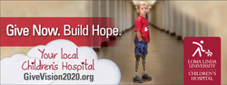 Loma Linda University Children's Hospital Billboard - Giving Campaign