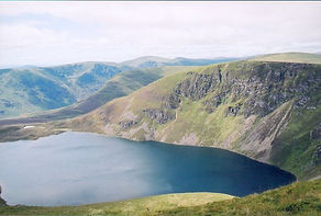 Gordon Hatton  Loch Brandy from the crag