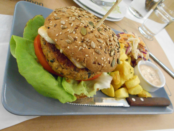 Λαχταριστά Veggie Burgers