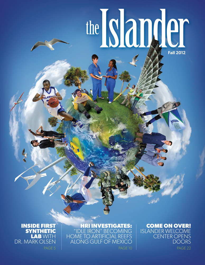 Islander Magazine Cover Design