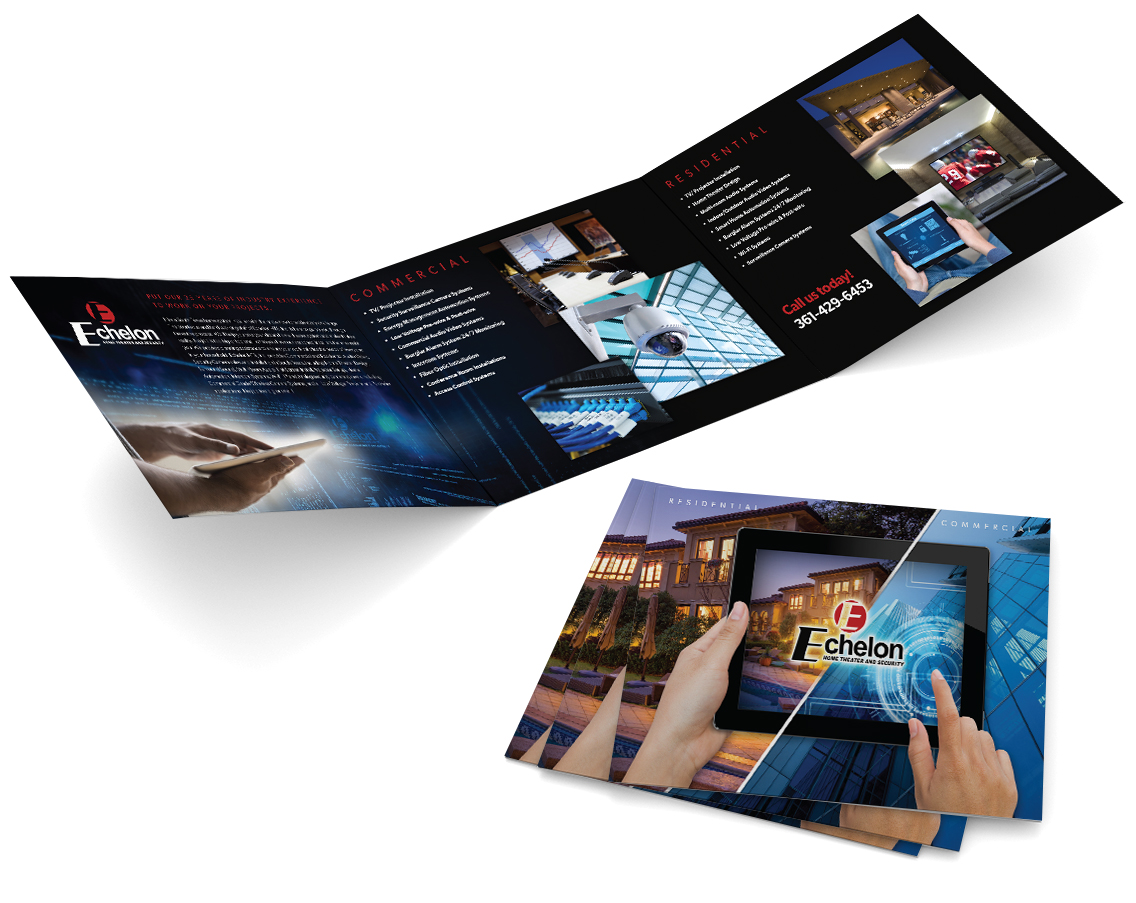 Echelon Brochure Design
