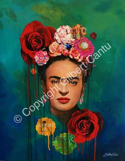 Frida Kahlo by © Gilbert Cantu