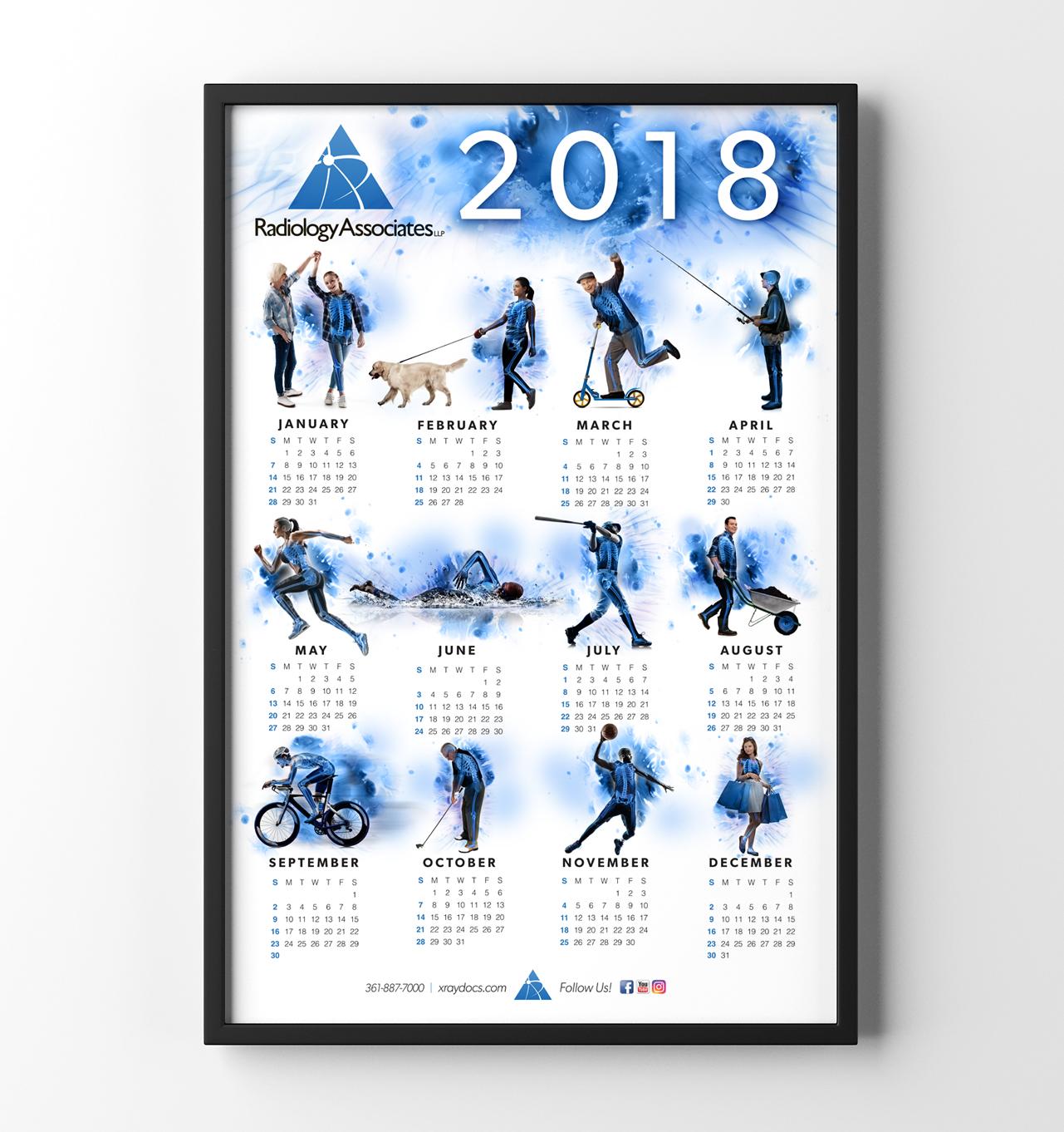 Radiology Associates Wall Calendar