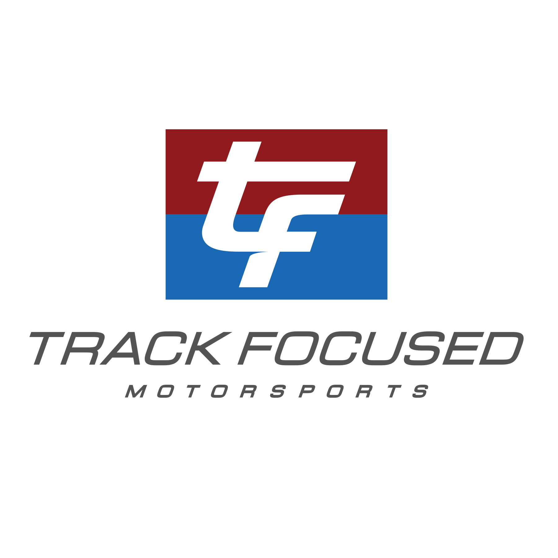 Track Focused FB Profile pic white