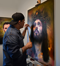 Gilbert Cantu Christ in Studio