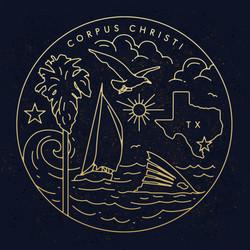 Corpus Christi emblem design