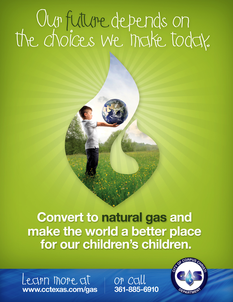 Ad design for CC Gas Department