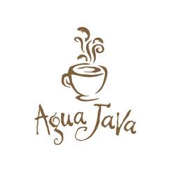 Agua Java Logo Design