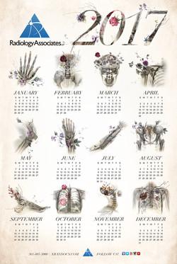RA 2017 Wall Calendar
