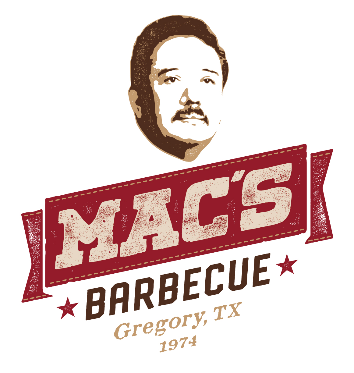 Macs Barbecue logo design