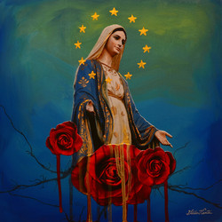 Holy Queen by Gilbert Cantu low res