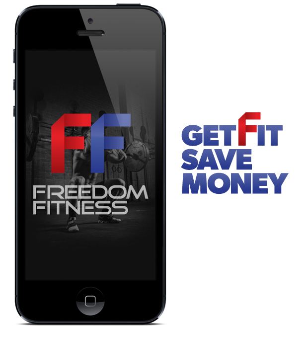 Freedom Fitness Icon and Slogan